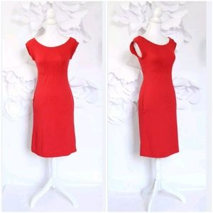 Diane Von Furstenberg Red Party Dress 4 Holiday